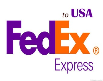 Shipping via FedEx Express to USA,  See inside for complete details, Your Shipping time to 2 - 3 business Days, USA Buyers only