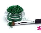 EMERALD GREEN Cosmetic Glitter for Makeup, Eye Shadow, Lips, Nail Polish, Body Shimmer & Hair Sparkle (B007)