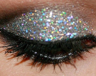 PRISM SILVER Cosmetic Glitter for Makeup, Eye Shadow, Lips, Nail Polish, Body Shimmer & Hair Sparkle (C005)