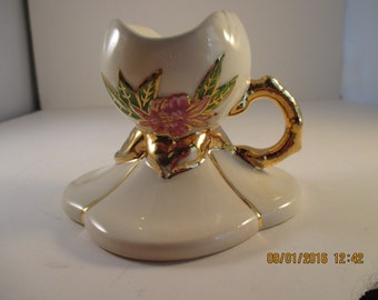 Hull Art pottery ceramic Candle Holder