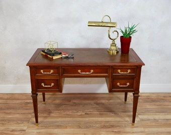 Vintage Hekman Office Desk