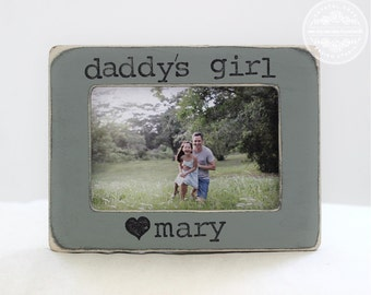 Father's Day Gift Dad Gift from Daughter Father Daughter Personalized Picture Frame Daddy's Girl Frame