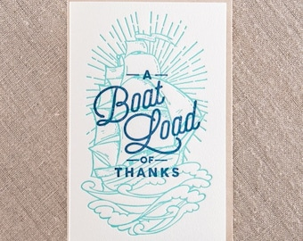Boatload of Thanks