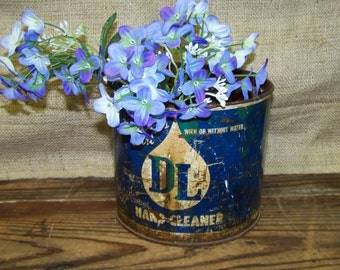 Blue Label Tin Hand Cleaner Tin Blue Label Hand Cleaner Can