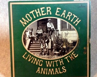 LP Mother Earth - Living With The Animals - Mercury - Stereo - SR61194 -