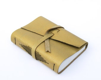 All Gold Travel Journal
