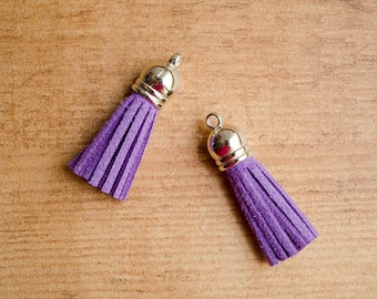 Purple tassel charm for Traveler's Notebook and planners