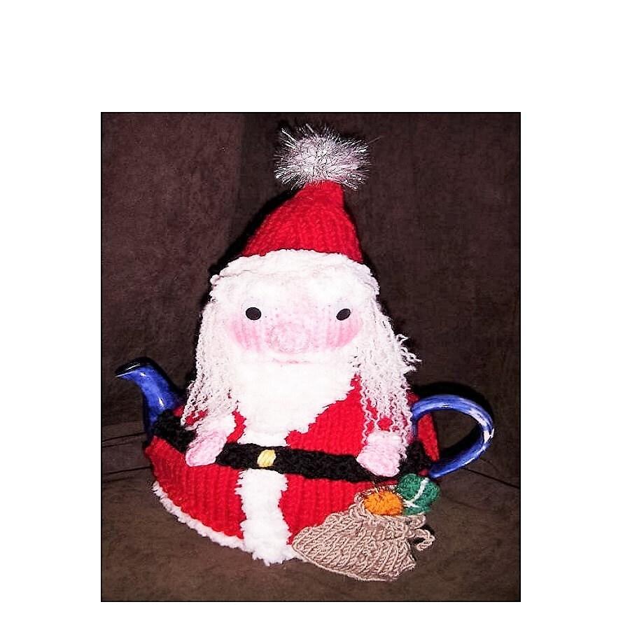 Tea cosy knitting pattern christmas tea cosy knitting zoom bankloansurffo Choice Image