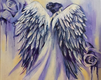 Angel of Peace - Giclee Print of original oil painting