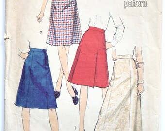 a line skirt pattern etsy uk