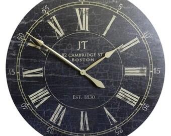 JT Bond St Wall Clock