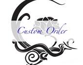 Custom order for Karen - Gemstone Lariat Necklace