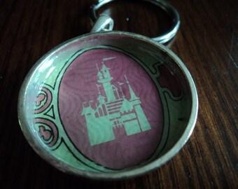 Vintage Disney ticket keychain
