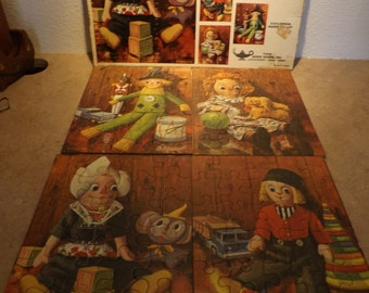 The Moppets 4 Picture Puzzle Set