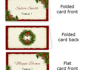 Christmas Invitation Flyer Holiday Party Flyer 85 x 11