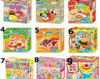 Pick any 6 Kracie Popin Cookin Japanese DIY candy Japanese Candy buy online Cheap Japanese Candy online Japanese candy making kits