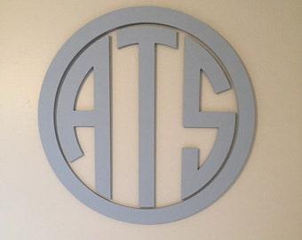 Wooden initials | Etsy