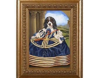 Dog Novelty Gift, Dog Gag Gift, Dog Magnet, Chloe, Cavalier, Funny Pet Gift