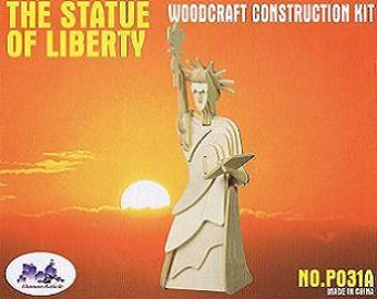 Statue Of Liberty Wood Puzzle
