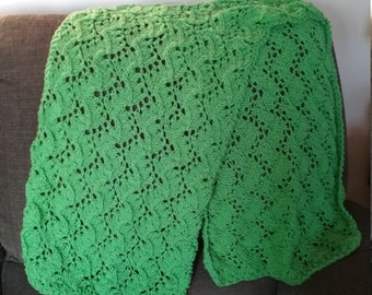 Vines & Leaves Lace Multi-Season Scarf/Stole- See Shop Announcement for Coupon Code