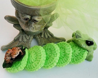 Crochet / Tulle Dish Scrubber