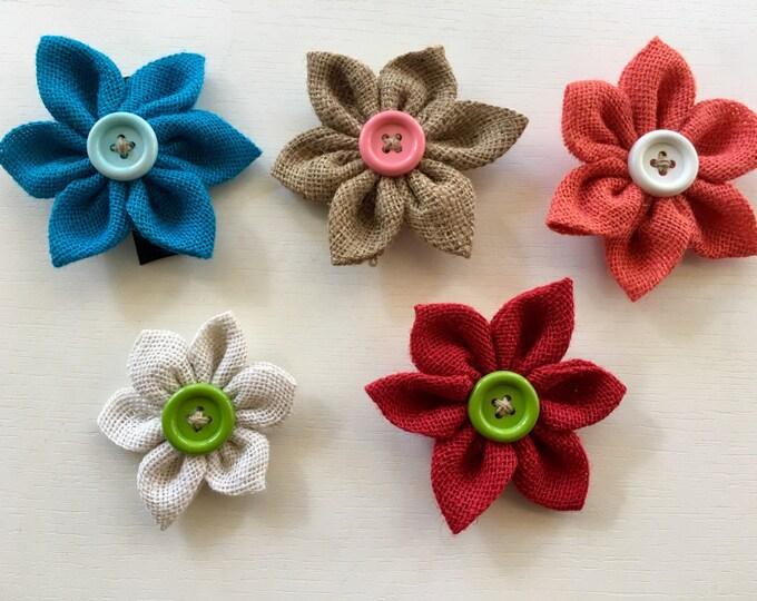 Burlap Flower Accessory