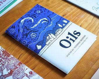 Belfast poet's chapbook: poems about Olive Oyl & van Gogh