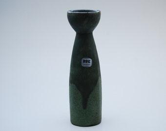 stylish green RRK (Rhein Ruhe Keramik) vase