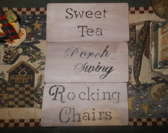 Country Rustic Sweet Tea Memories