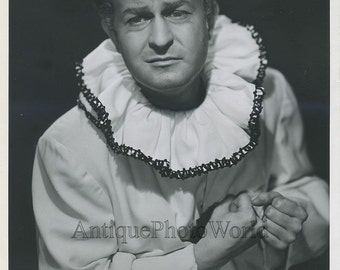 Victor Clarke opera singer Pagliacci vintage photo