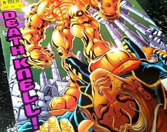 "Marvel Comics X-Men Comic Book ""X Man - Death Knell!"""