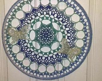 "19"" Crocheted Mandala"
