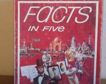 1976 Facts in Five by Avalon Hill