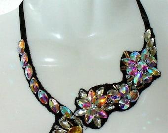 Extravagant necklace, necklace, statement Necklace (5)