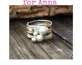 Custom ring for Anna