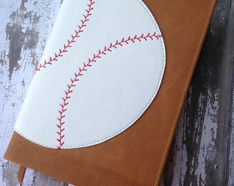 Leather Baseball Bible: Compact NIV- Great for players, coaches, or end of season trophey