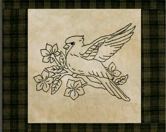 Stitchery Pattern - Songs of the North Stitchery Pattern
