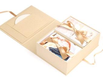 """Photo Box Wedding Sahara for photos 4x6"""""""