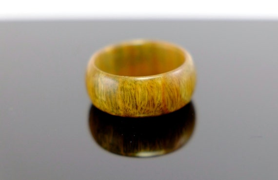 Ironwood wooden ring