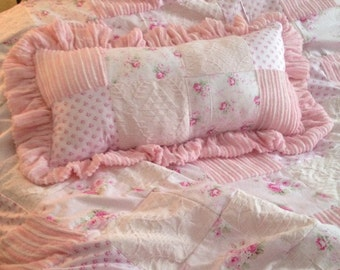 pink quit duvet with matching pillow
