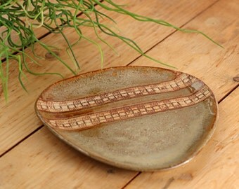 Tundra Textured Decorative Stoneware Ceramic Bowl