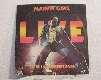 "Marvin Gaye - ""Live At The London Palladium"" vinyl records, 2 LPs"