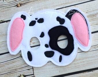 Dalmatian puppy mask