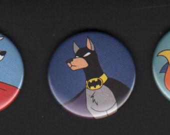 DC Super Pets Button Set