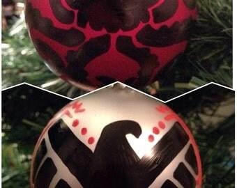 S.H.I.E.L.D. vs. Hydra Ornaments