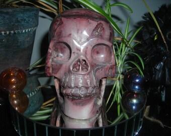 RARE old Stone Skull