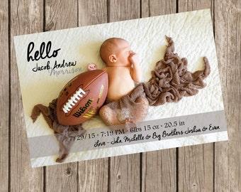 Hello Birth Annoucement