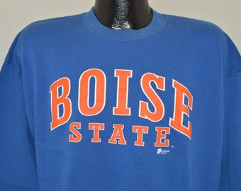 90s Boise State Broncos Sweatshirt Extra Large