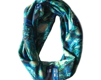 Doctor Who Starry Night infinity scarf