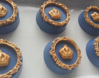 Prince Themed Chocolate Covered Oreos, King, Royal